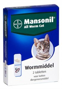 mansonil-all-worm-cat-ontworming-kat-2-tabletten