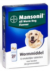 mansonil-all-worm-dog-ontworming-hond-6-tabletten